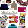 Good Housekeeping  Fashion Lovers' finds- Oct 2008