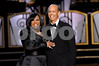 "Singer Patti Labelle is honored at the 30th Annivesary of ""An Evening of Stars"" accomping her is the President of the United Negro College Fund Dr. Michael Lomax (right) on Saturday September 13, 2008 in Los Angeles, CA<br /> (AP Photo/Earl Gibson III)"