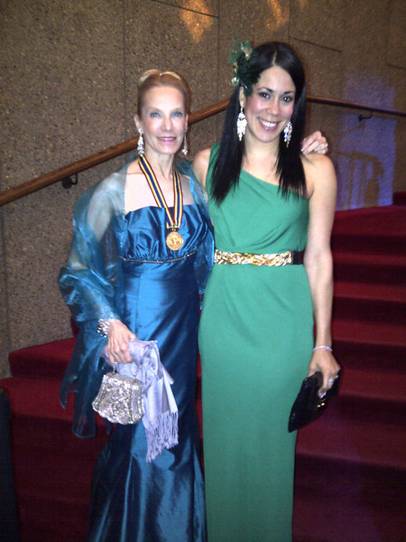Canada's Governor General Gala for the Arts 2012: Former Canadian ballerina Evelyn Hart and American abstract painter Sona Mirzaei.