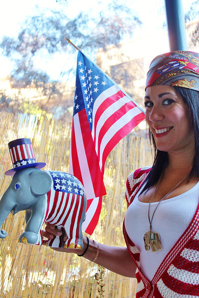 Mr. Liberty for Elephant Parade USA