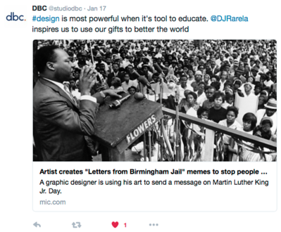 "Artist creates ""Letter from a Birmingham Jail"" memes to stop people from whitewashing MLK"