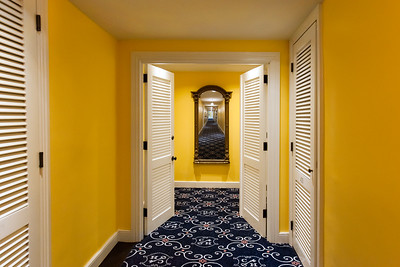 Double doors with entry to Junior suite and connecting room