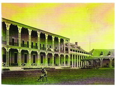 Congress Hall pre 1854 photo