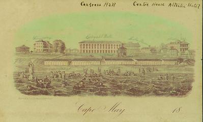 Congress Hall post 1854 - date unsure