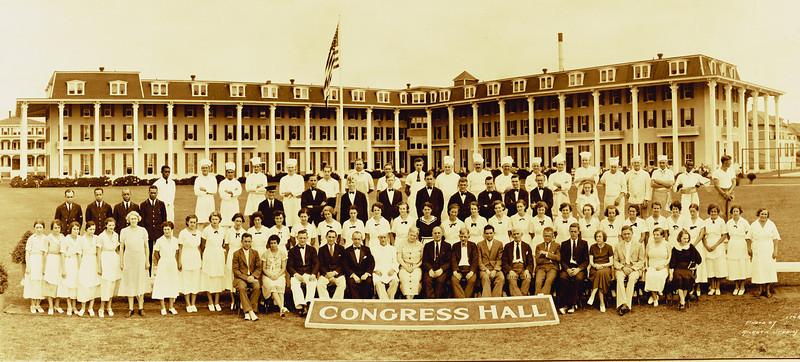Congress Hall Staff Photo 1928