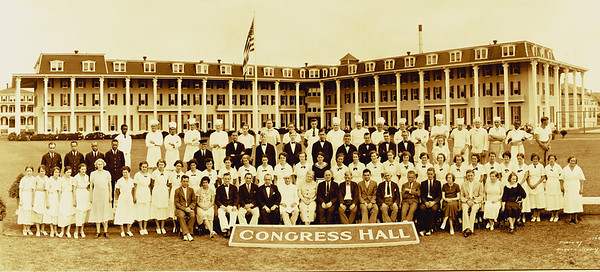 Congress Hall Staff Photo 1928