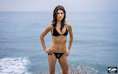 Pretty Black Hair & Green Eyes Model Modeling Celtic Cross Swimsuit! Sony A7R RAW Photos Bikini Goddess! Carl Zeiss Sony FE 55mm F1.8 ZA Sonnar T* Lens! Lightroom 5.3 !