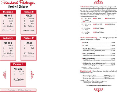 Brochure for Family, Children and Pets.  Click image to enlarge.