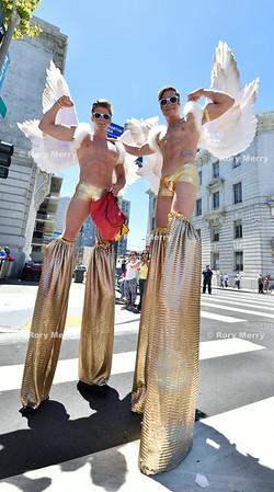 San Francisco Pride 2014 Party at Civic Center