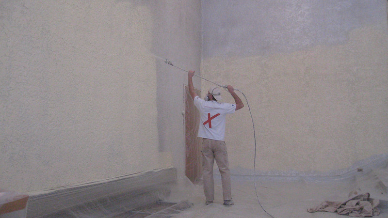 Spraying of the Sanctuary area