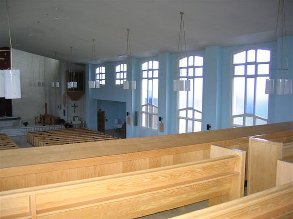 Before Painting: Inside of St-Thomas Aquinas