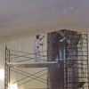 Spraying of the ceilings