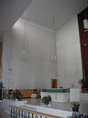 Sanctuary area (St-Thomas Aquinas)