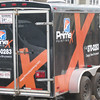 The PrimeX trailer...our movable garage!