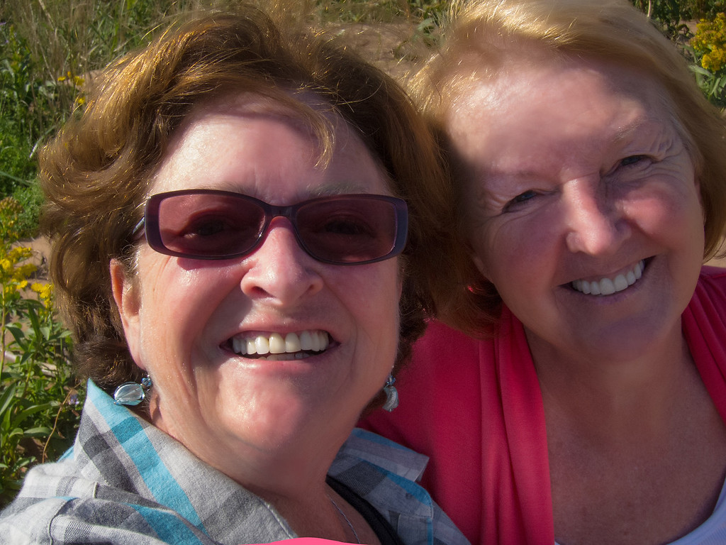 Having a Great time with Dearest Friend Belinda at Cape Turner , PEI