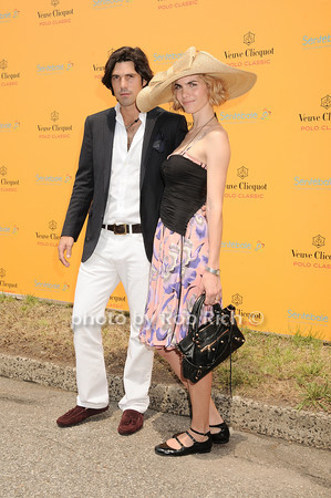 Nacho Figueras, Delfina Balquier photo by Rob Rich © 2010 robwayne1@aol.com 516-676-3939