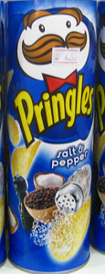 Salt and Pepper flavored Pringles from Malaysia | Courtesy of Dylan http://www.fantabulousness.com