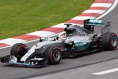 Lewis Hamilton Mercedes Poster