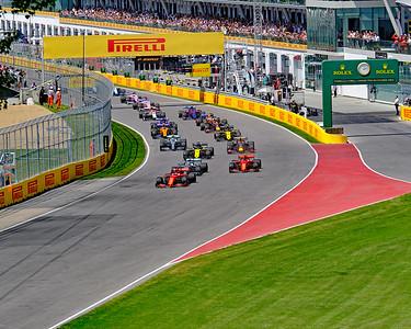 Montreal F1 start large