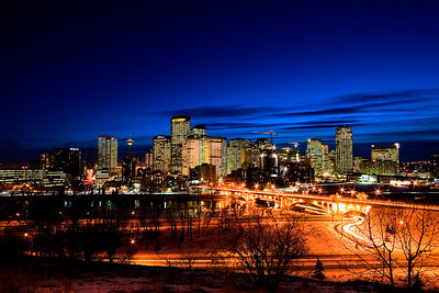 Calgary from Samis Hill