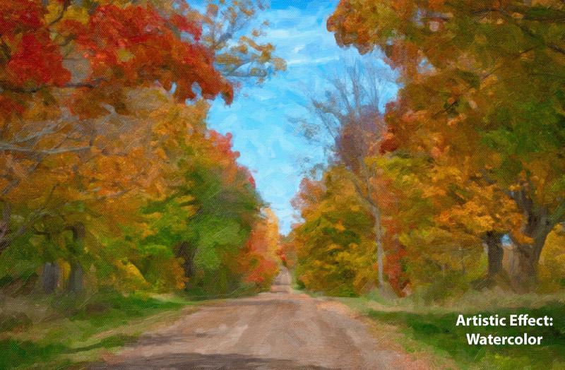 Artistic Effect - Watercolor