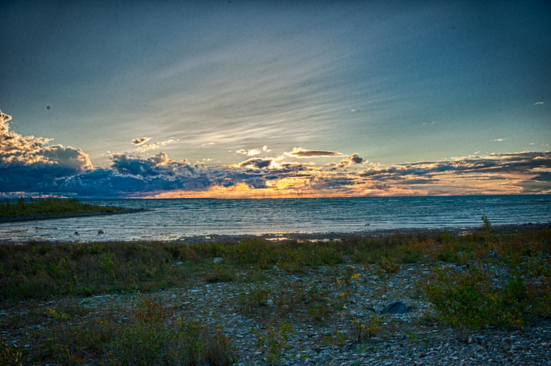 Sunset #2<br /> Near Mackinaw City, Michigan, 2012