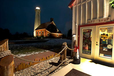 Lighthouse in Tawas, MI