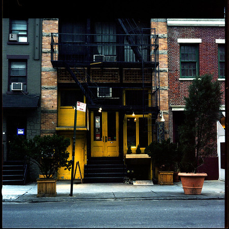 New York City: Coffee Shop in SoHo 12x12 Kodak Lustre Print: $45 12x12 Canvas Print: $110