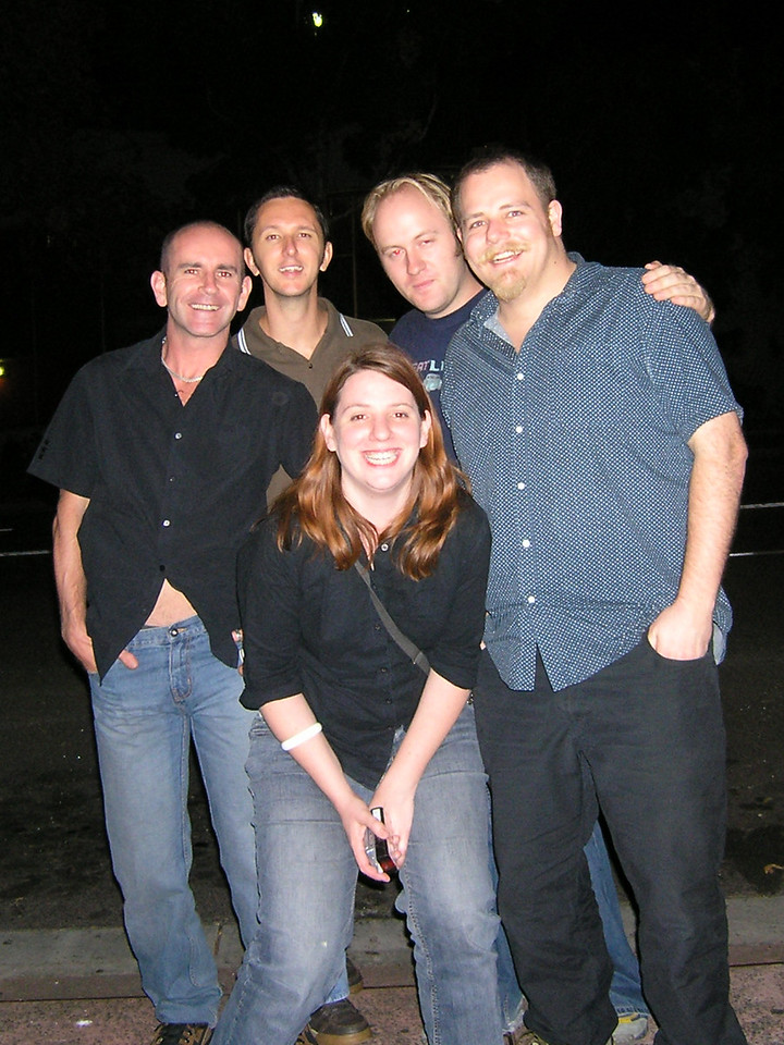 Peter, Todd, Holly, Mikey, SImon