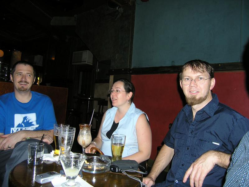 Anthony, Laura and Graeme at Kuletos