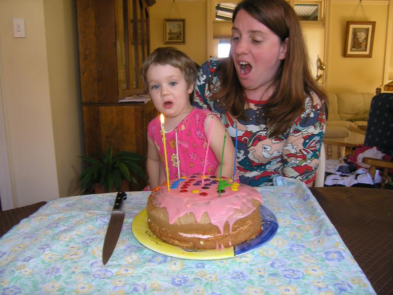 Holly's birthday cake