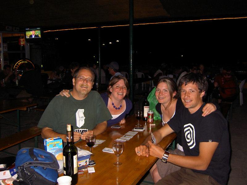 Simon, Holly, Sandra, Sam