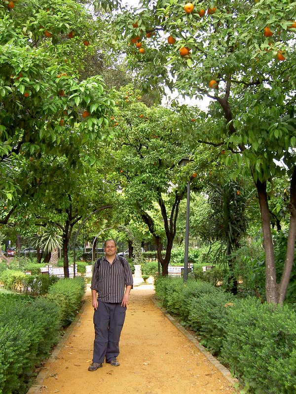 Alcázar gardens