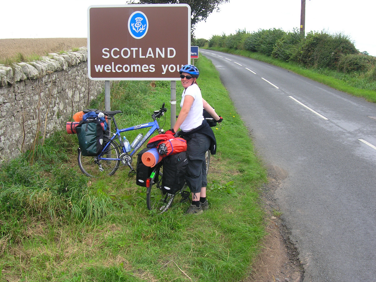Crossing the Scottish Border...