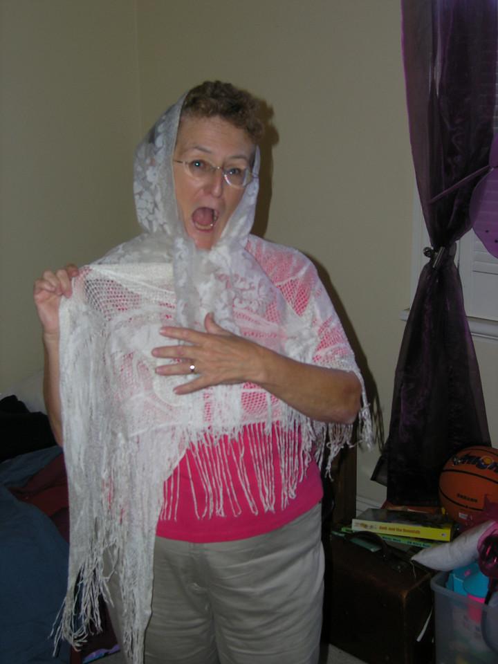 Mum goes gypsy