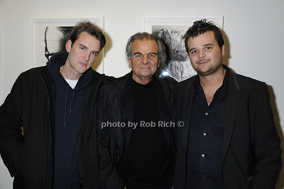 Vic Demarchelier, Patrick Demarchelier, Arthur Demarchelier -photo by Rob Rich © 2009 516-676-3939 robwayne1@aol.com