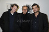 Vic Demarchelier, Patrick Demarchelier, Arthur Demarchelier<br /> -photo by Rob Rich © 2009 516-676-3939 robwayne1@aol.com