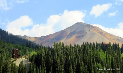 Red Mountain Pass scenery.