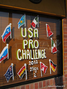 Montrose Pro Challenge decorations--every store had em!