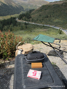Tools to pass the time, Independence Pass.