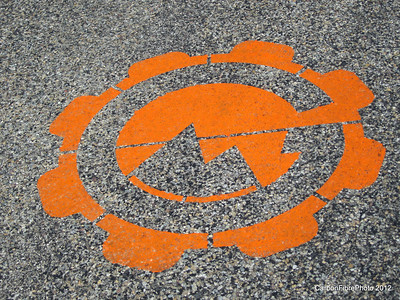 Strange symbols dot the road at Lizard Head Pass.