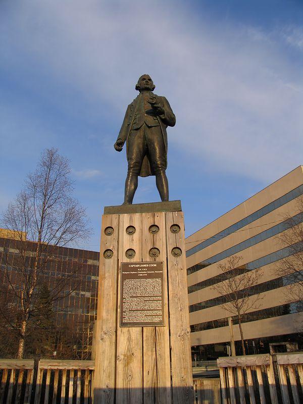 """Statue """"Captain Cook"""" / Auto Fix PSE, Neat Image Auto"""