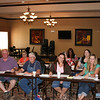 Pictured: Bates Duncan and Jimmy Strube of Strube Propane; Olga Nicholas, Maurie Wright, Susanna Clem, Anne Warren and Gail Bishop of Mallory's attend the ProCOT Training Series on July 27th in Mt. Pleasant.