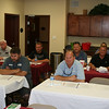 District 5 propane retailers converge on Victoria on August 24th to take part in ProCOT's Training Series for Hazmat & OSHA Training. Front row: Robert & Hedge Talbott of Talbott Propane; Jody Keys of Busters Butane; Enrique Villegas of Woodsboro Propane. Middle row: Ricky Dodson, Ace Propane; Kevin Benes, Jerry Benes, Herman Russell, and Chris Russell of Souht Texas Propane. Back row: Terry and Allen Quinn of South Texas Propane.