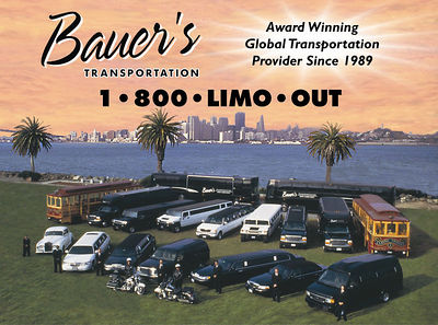 For more information about this transportation company, please vsit:  www.bauerslimo.com