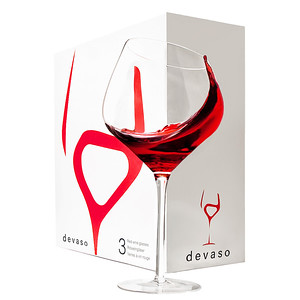 Devaso Wine Glasses 3-pack
