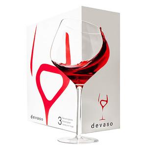 Devaso Wine Glasses 3-pack