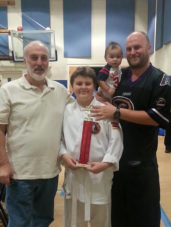 Professor Ray Fisher's ACS Fall Classic Karate Tournament