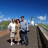 October 16, 2011 - Giselle Shepatin's Mother, Giselle and Earl Crabb, visiting the Kilauea Lighthouse.
