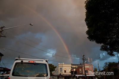 April 6. Rainbow